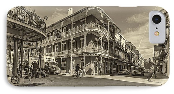 French Quarter Afternoon Sepia Phone Case by Steve Harrington
