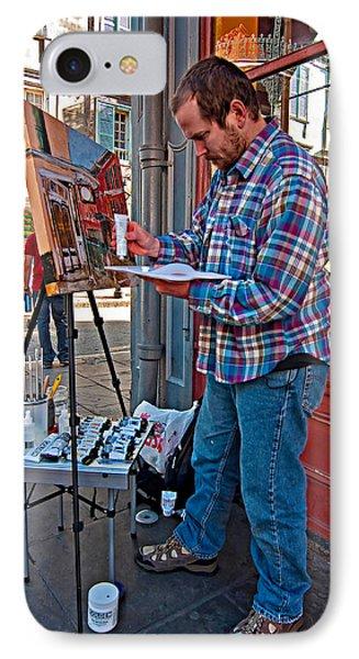 French Quarter Artist Phone Case by Steve Harrington