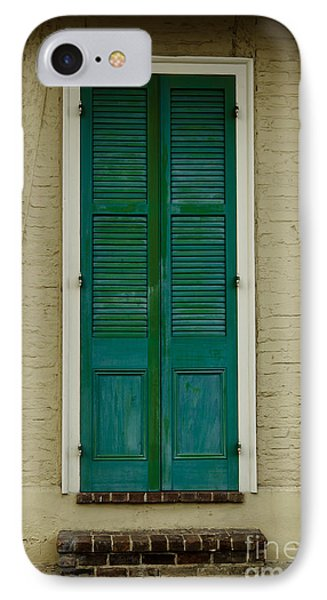 French Quarter Door - 15 Phone Case by Susie Hoffpauir