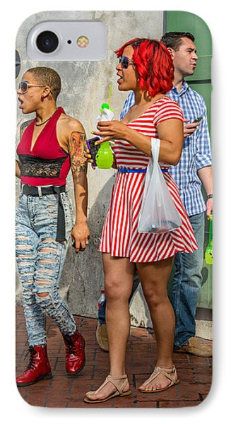 French Quarter - Party Time IPhone Case by Steve Harrington