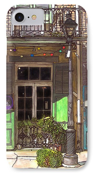 French Quarter Shop 369 Phone Case by John Boles