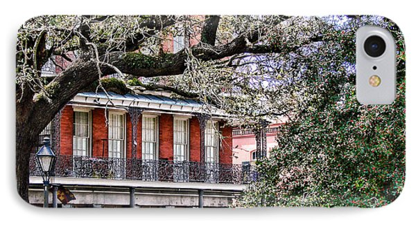 French Quarter Spring IPhone Case by Olivier Le Queinec