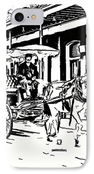French Quarter Wheels 2 Phone Case by Steve Harrington