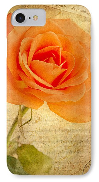 IPhone Case featuring the photograph French Rose by Kim Andelkovic