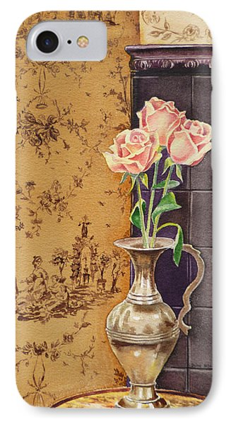 French Roses IPhone Case by Irina Sztukowski