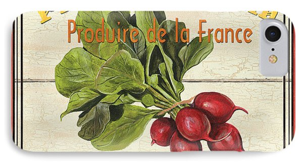 French Vegetable Sign 1 IPhone Case