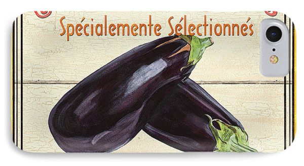 French Vegetable Sign 3 Phone Case by Debbie DeWitt