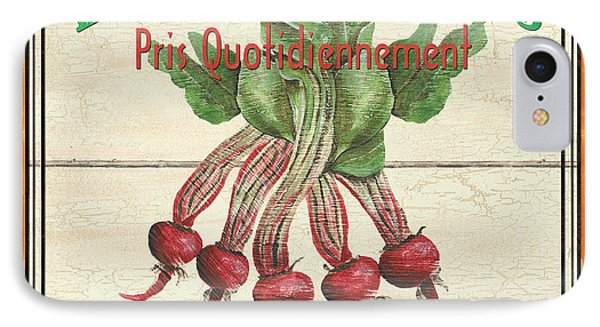French Vegetable Sign 4 IPhone Case by Debbie DeWitt