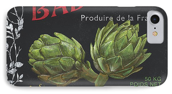 French Veggie Labels 1 IPhone Case