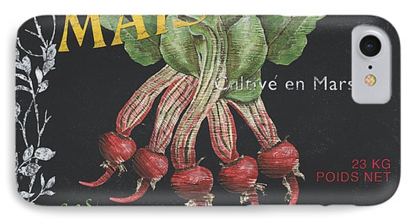 French Veggie Labels 2 IPhone Case