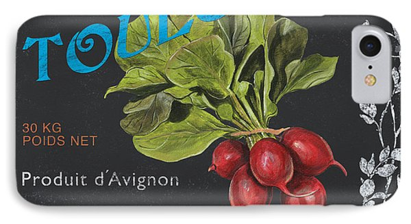 French Veggie Labels 3 Phone Case by Debbie DeWitt