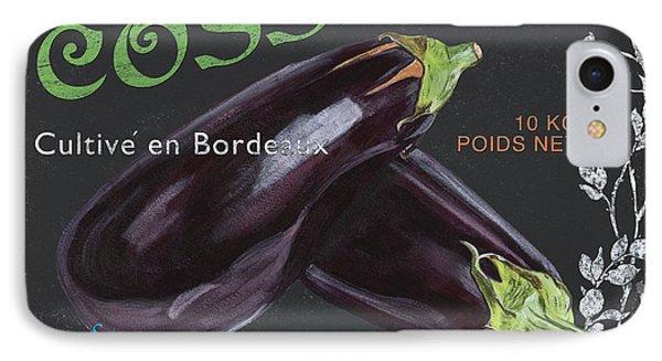 French Veggie Labels 4 IPhone Case by Debbie DeWitt