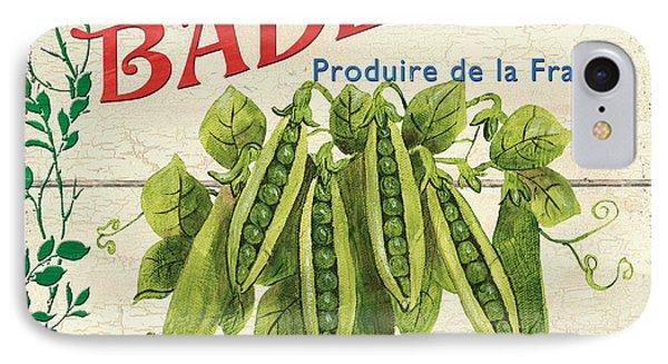 French Veggie Sign 1 IPhone Case by Debbie DeWitt