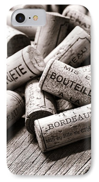 French Wine Corks Phone Case by Olivier Le Queinec