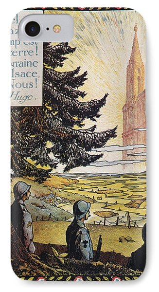 French World War I Poster IPhone Case by Granger