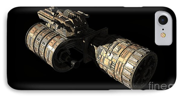 Frenchbulgarian Orbital Weapons Phone Case by Rhys Taylor