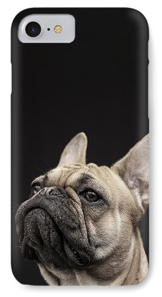 Frenchie IPhone Case by Samuel Whitton