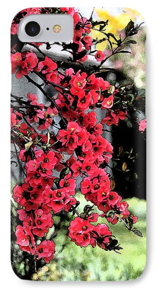 Quince Flowers IPhone Case