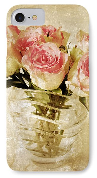 Fresco Roses IPhone Case by Jessica Jenney