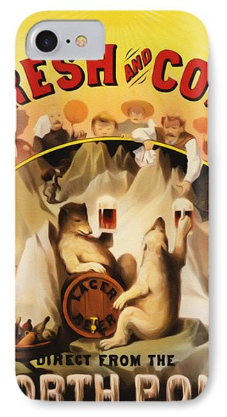 Fresh And Cold Direct From The North Pole Phone Case by Bill Cannon
