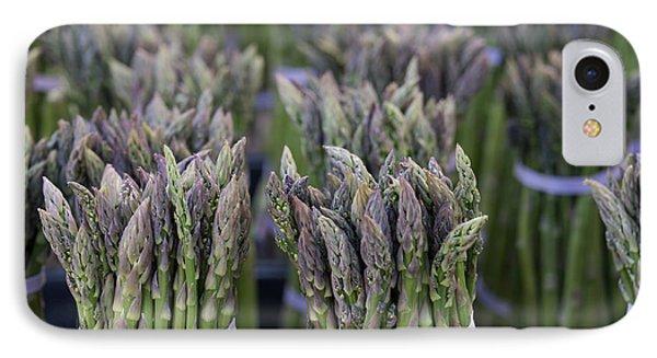 Fresh Asparagus IPhone 7 Case by Mike  Dawson