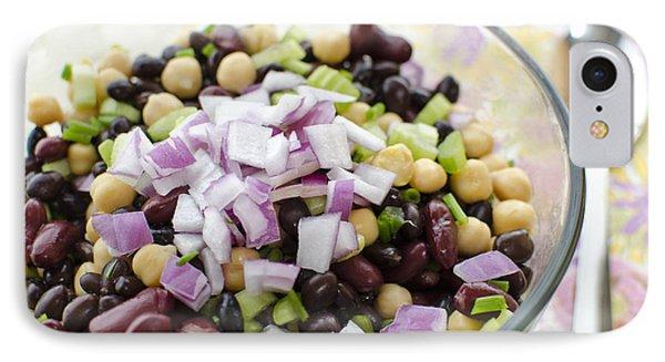 Fresh Bean Salad IPhone Case by Maria Janicki