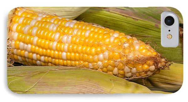 Fresh Corn At Farmers Market Phone Case by Teri Virbickis