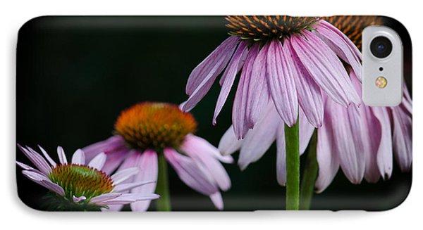Fresh Echinacea Phone Case by Renee Barnes
