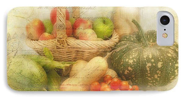 Fresh From The Garden Phone Case by Linda Lees