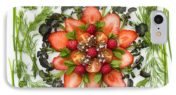 Fresh Fruit Salad Phone Case by Anne Gilbert