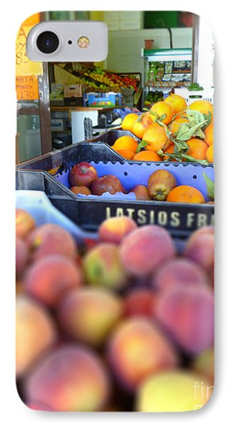 IPhone Case featuring the photograph Fresh Fruit by Vicki Spindler