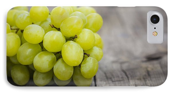 Fresh Green Grapes Phone Case by Aged Pixel