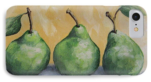 Fresh Green Pears IPhone Case by Torrie Smiley