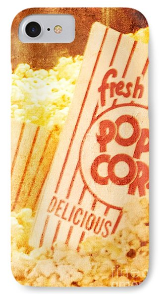 Fresh Hot Buttered Popcorn IPhone Case by Cindy Garber Iverson