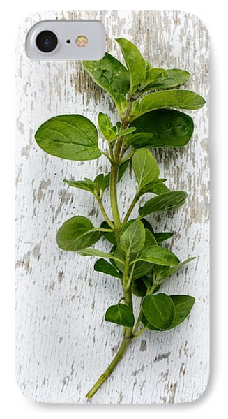 Fresh Oregano IPhone Case by Nailia Schwarz