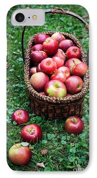 Fresh Picked Apples IPhone Case by Edward Fielding