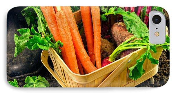 Fresh Picked Healthy Garden Vegetables Phone Case by Edward Fielding