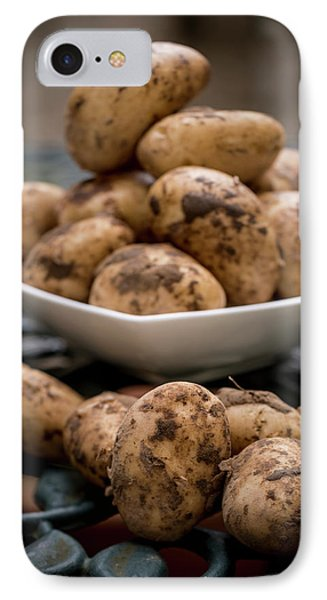 Fresh Potatoes IPhone Case by Aberration Films Ltd
