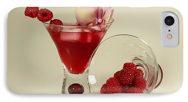 Fresh Raspberry Cosmos Delight Phone Case by Inspired Nature Photography Fine Art Photography