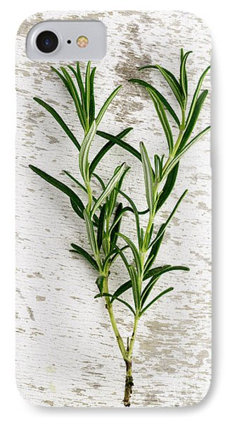 Fresh Rosemary IPhone Case by Nailia Schwarz