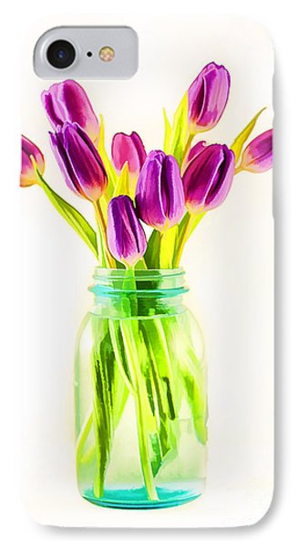 Fresh Tulips Phone Case by Darren Fisher