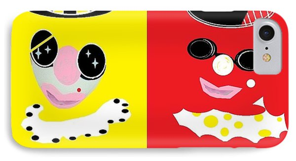 Frick And Frack  IPhone Case