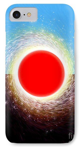 IPhone Case featuring the digital art Friction by Cristophers Dream Artistry