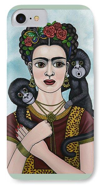 Frida In The Sky IPhone Case by Victoria De Almeida