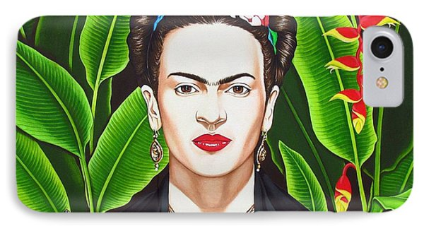 IPhone Case featuring the painting Frida by Joseph Sonday