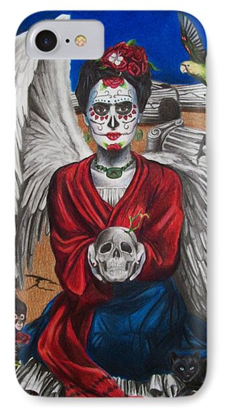 Frida Kahlo Phone Case by Amber Stanford