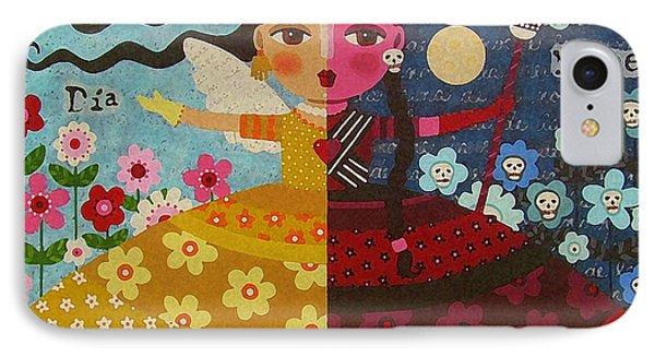 Frida Kahlo Angel Devil Queen Phone Case by LuLu Mypinkturtle