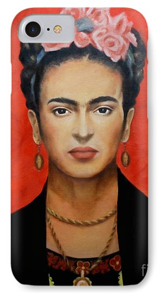 Frida Kahlo IPhone Case by Elena Day