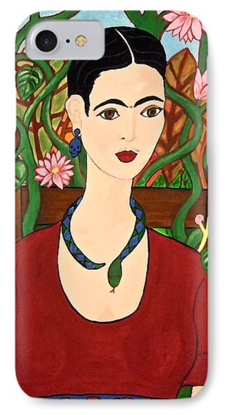 Frida With Vines IPhone Case