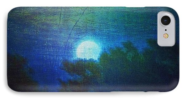 Friday 6/13/14 Full Moon - The Honey IPhone Case by Paul Cutright